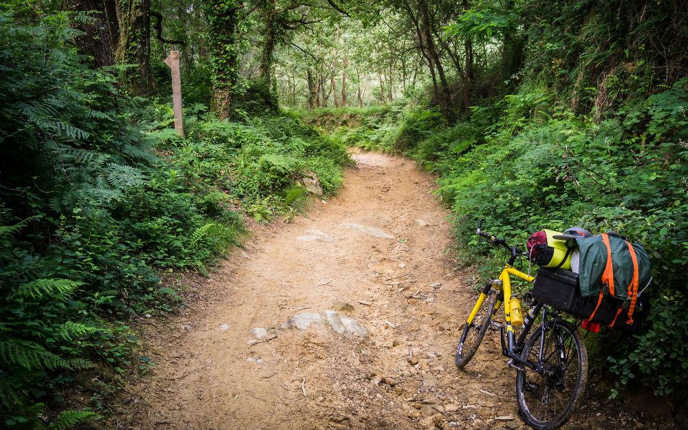 Tour della Spagna in bici