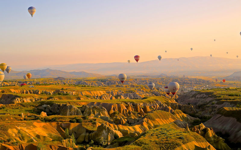 Turchia - Antalya - Cappadocia