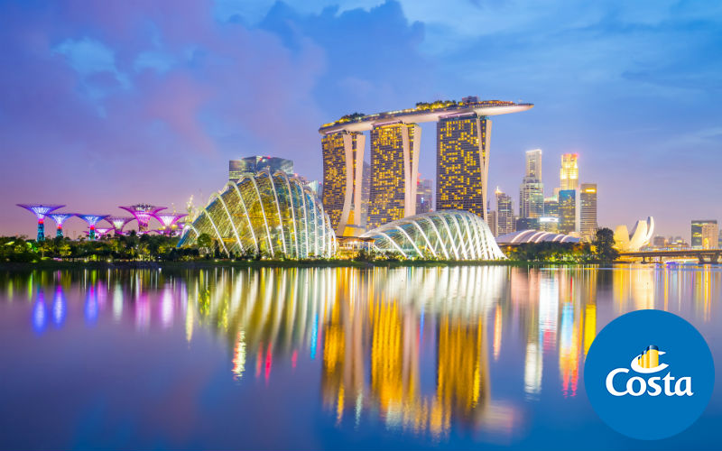 Oriente - Singapore - Thailandia - Cambogia