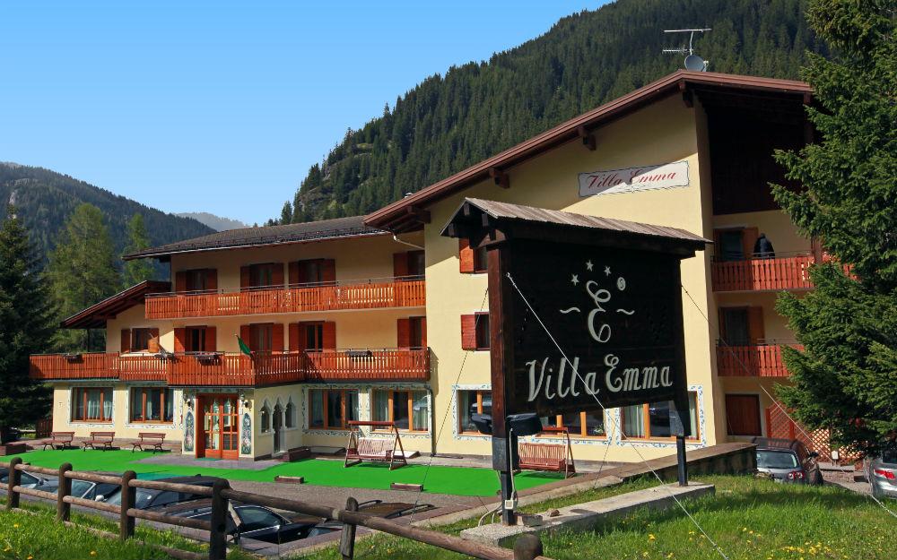Hotel Villa Emma *** - Trentino-Alto Adige, Alba di Canazei (TN ...