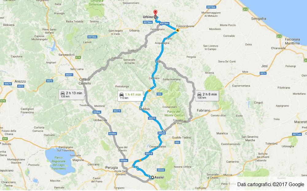 Umbria - Assisi - Urbino