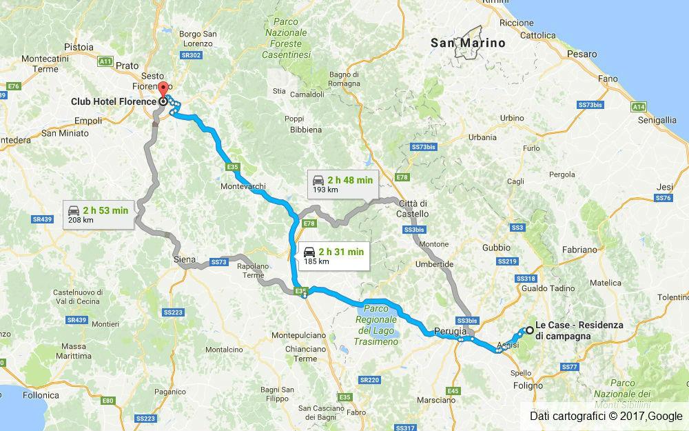 Umbria - Assisi (PG) - Firenze (FI)