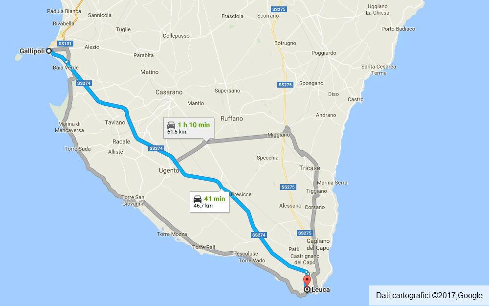 Puglia - Gallipoli - Santa Maria di Leuca