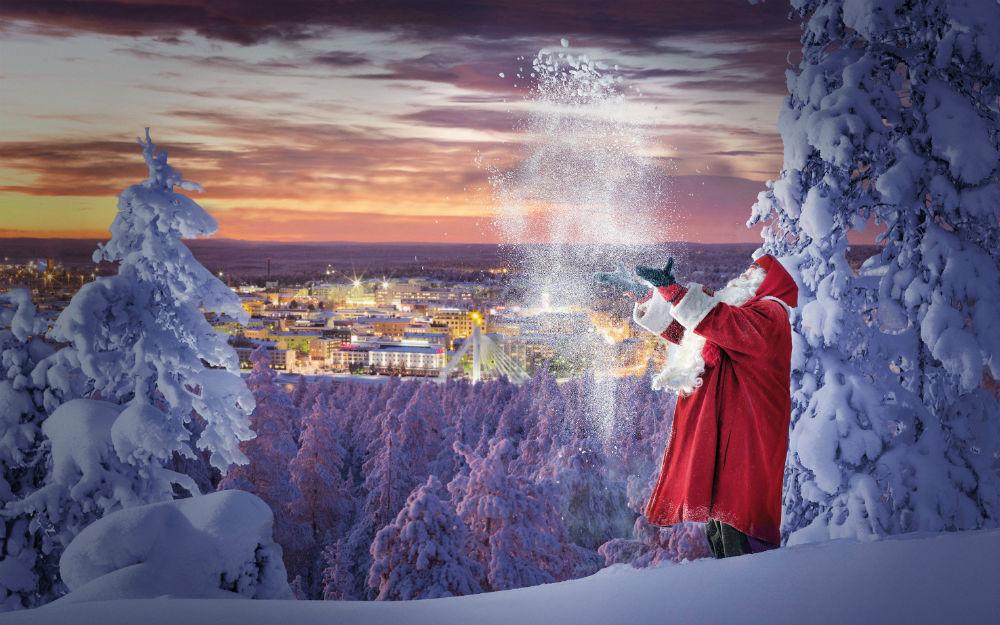 Rovaniemi Lapponia Babbo Natale.Il Mondo Di Babbo Natale Speciale Rovaniemi Finlandia